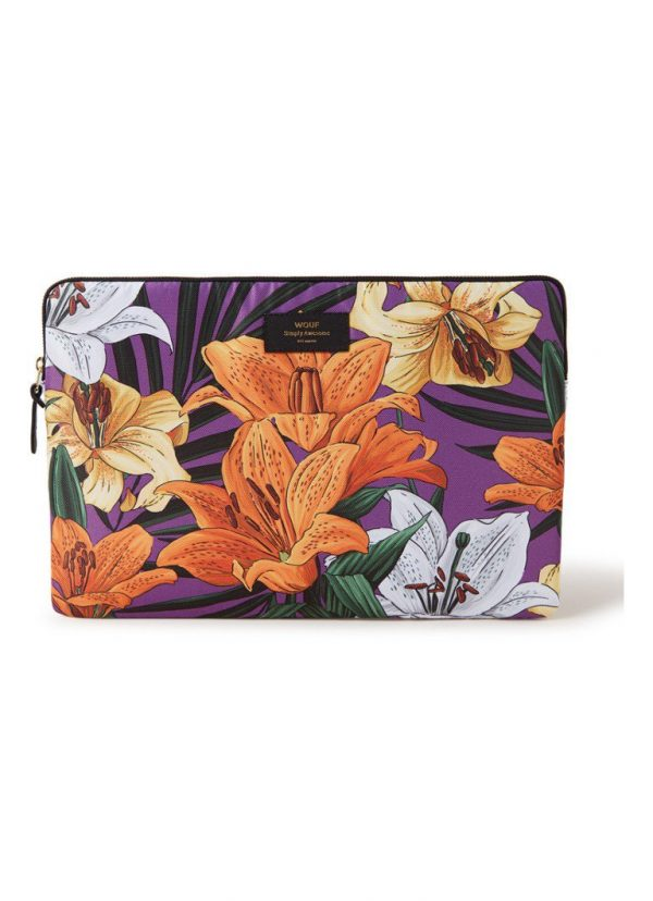 laptophoes met Hawaii print