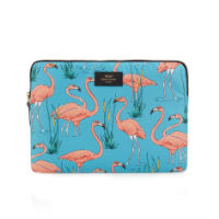 laptophoes met flamingo's